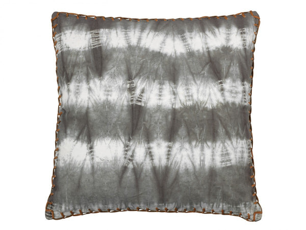 Grey Tie Dyed Pillow