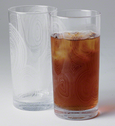 Etched Bar Glasses