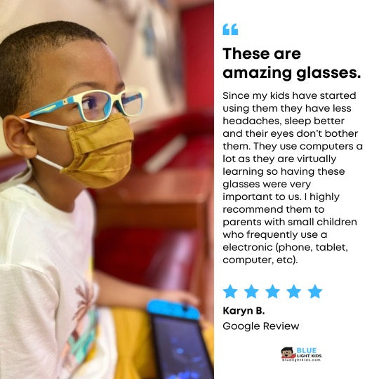 Blue Light Kids Blue Light Blocking Glasses - Amazing Reviews - Protection for Kids!