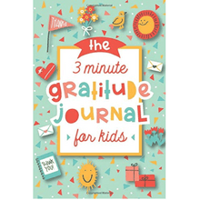 Load image into Gallery viewer, Blue Light Kids 3-Minute Gratitude Journal Blue Light Glasses for Kids