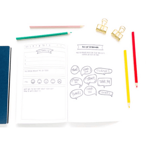 Blue Light Kids 3-Minute Gratitude Journal Blue Light Glasses for Kids