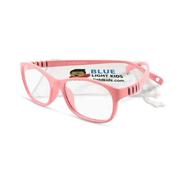 Blue Light Kids Blue Light Glasses for Kids Cotton Candy Premium Toddler SuperFlex Ultra Durable Blue Light Blockers (Ages 2-5) Blue Light Glasses for Kids