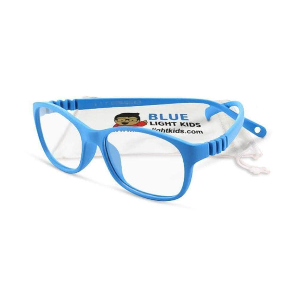 Blue Light Kids Blue Light Glasses for Kids Robin's Egg Premium Toddler SuperFlex Ultra Durable Blue Light Blockers (Ages 2-5) Blue Light Glasses for Kids