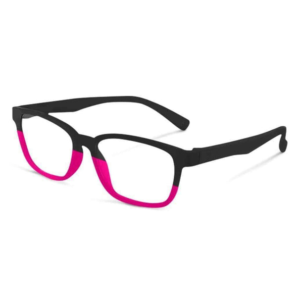 Blue Light Kids Pink & Black FunFlex Gradientz Pink & Black Blue Light Blockers (Ages 3-9) Blue Light Glasses for Kids