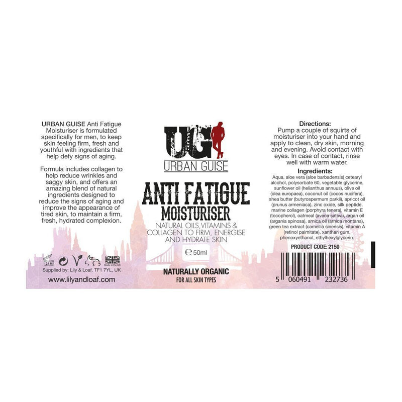 Urban Guise Anti-Fatigue Moisturiser 50ml