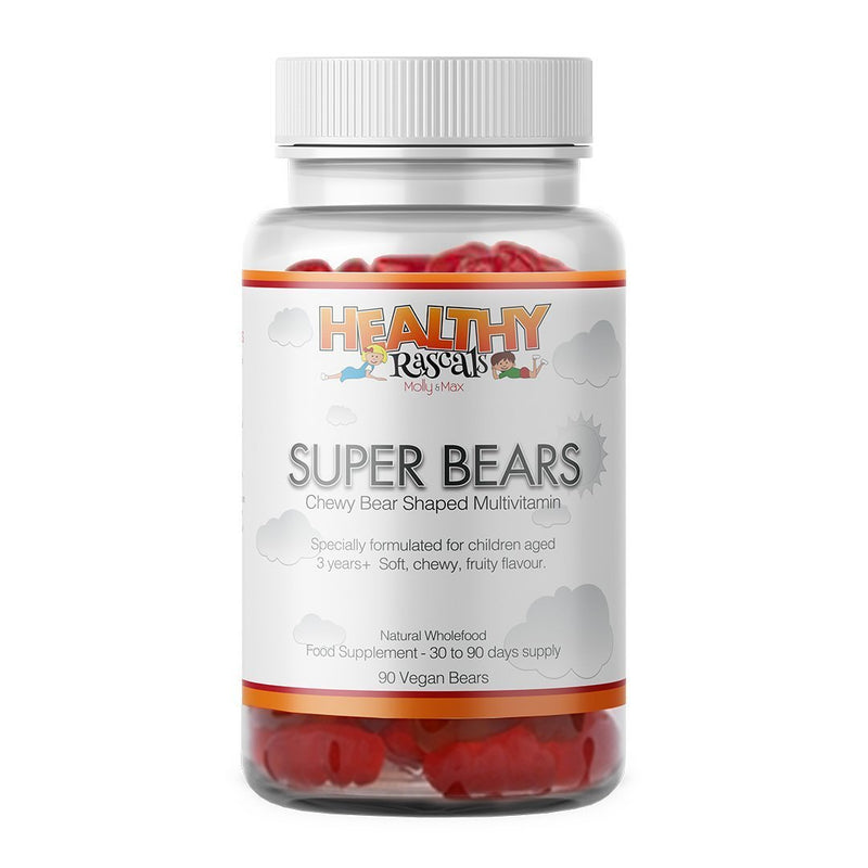 Healthy Rascals Super Bears Multivitamins (90 jelly bears)