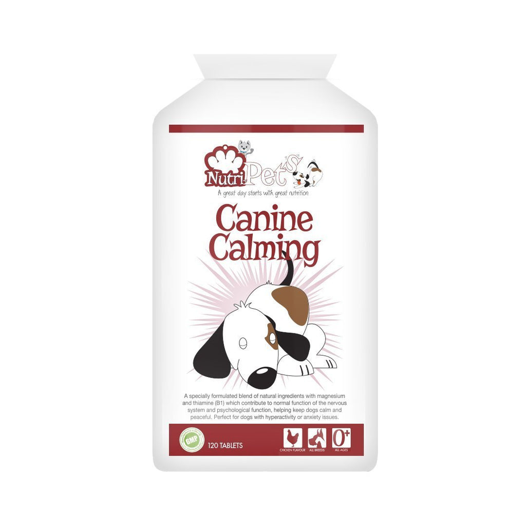 Nutri-Pets Canine Calming (120 chicken flavour tablets)