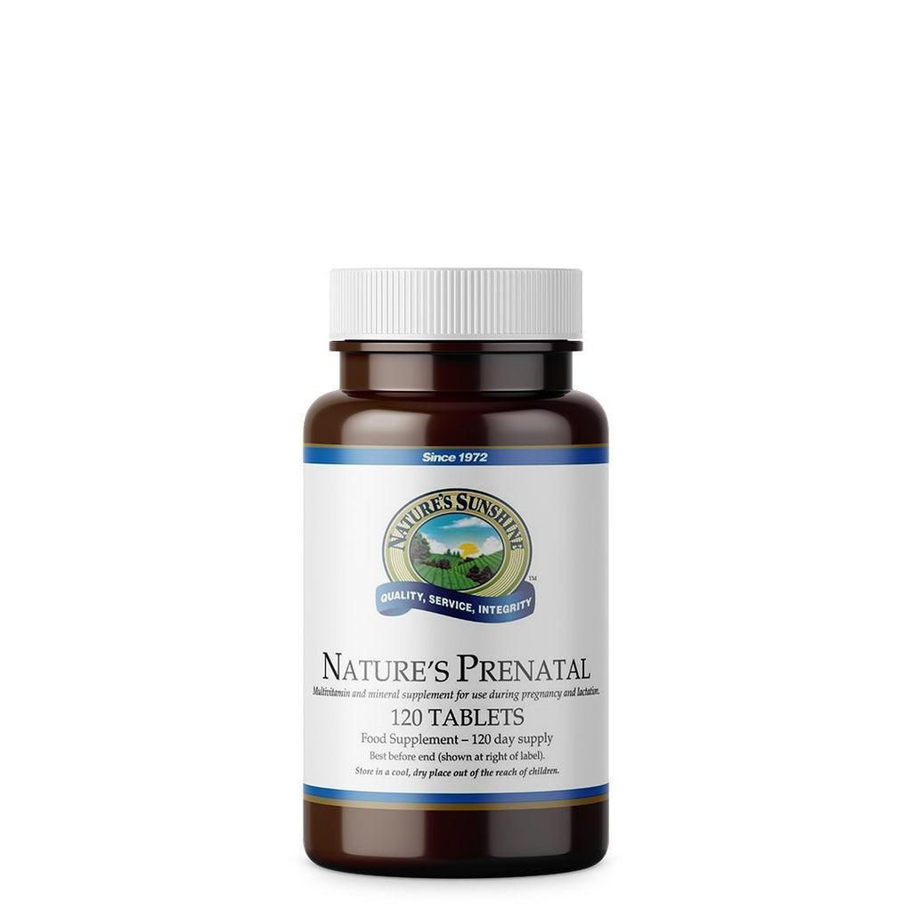 Nature's Sunshine Nature's Prenatal (120 tablets)