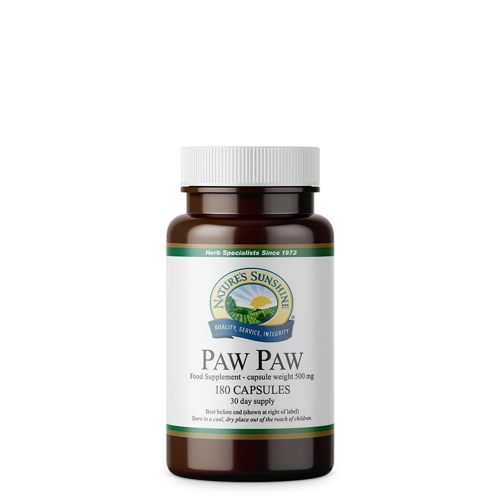 Nature's Sunshine Paw Paw (180 tablets)