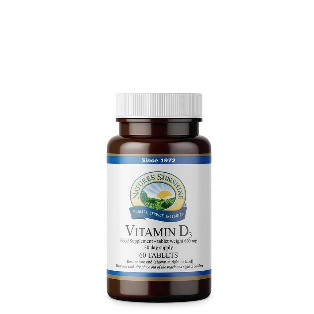 Nature's Sunshine Vitamin D3 (60 tablets)