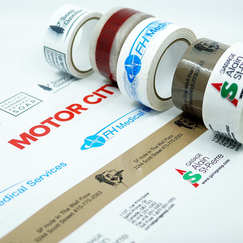 CUSTOM PRINTED ACRYLIC TAPE