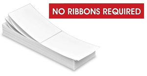 DIRECT THERMAL LABELS -  FAN FOLD - NO RIBBON REQUIRED