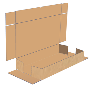 FIVE PANEL FOLDERS - (FOR USE IN PLACE OF MAILING TUBES)