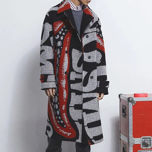 Casual Lapel Long Sleeve Overcoat