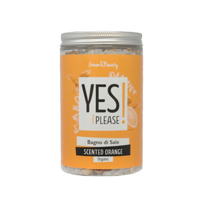 Hai aggiunto YES PLEASE Bagno di Sale Scented Orange al tuo carrello.