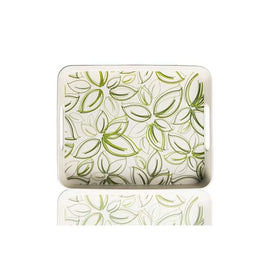 "Serving Tray/Spring Bud Print - 12"" x 9.75"""