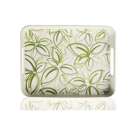 "Serving Tray/Spring Bud Print - 15"" x 11.5"""