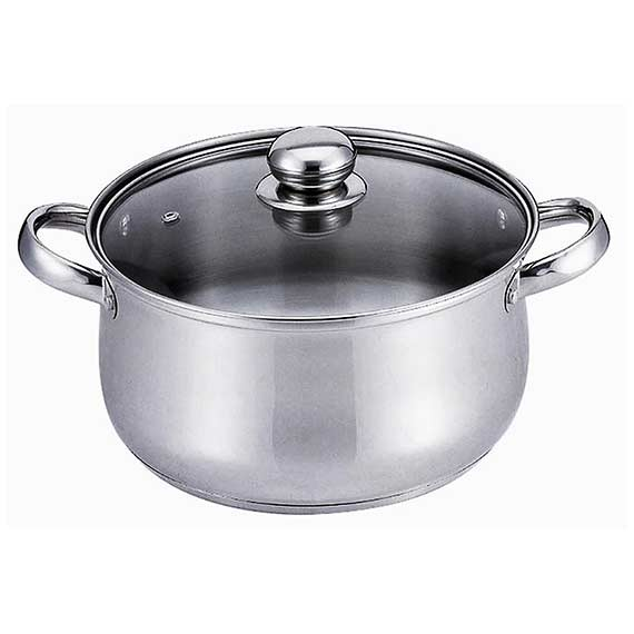 6QT S/S DUTCH OVEN/SS HANDLE