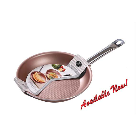 DIAMOND TEXTURED BOTTOM NON-STICK FRYPAN - 8