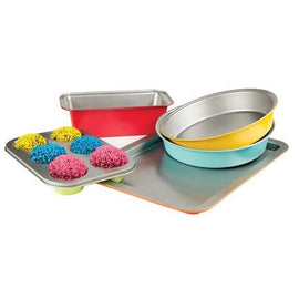 5 PC COLOR BAKEWARE SET