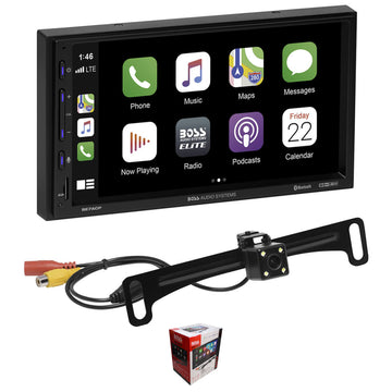 "BOSS 7"" Touchscreen Bluetooth Radio with Apple CarPlay/Android Auto and Camera BE7ACP-C"