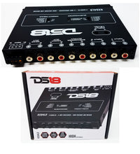 Load image into Gallery viewer, DS-KEQ4LD DS18 4 Band Graphic Equalizer Six Channel Line Driver Subwoofer Level
