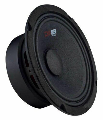 "1x SLC-X1850.4 AMP + 4x GM8 8"" Mid Speakers + 1x PRO-TW120 Set Tweeters"