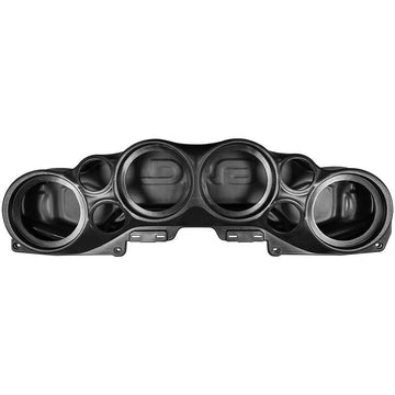 DS18 Loaded RGB Soundbar Black Jeep Wrangler Speakers Amp Tweeters 07-19