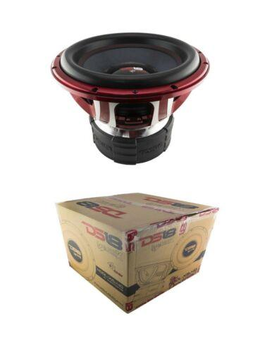 "DS18 HOOL-X15.4D 15"" Subwoofer 6000W Dual 4 ohm Competition Bass SPL Woofer Sub"