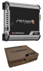 Stetsom Amplifier EX5000 EQ - 5600 Watts RMS 2 ohm Digital Amp Built-In EQ - 5k
