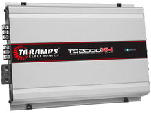 Load image into Gallery viewer, Taramps TS2000X4 Full Range 4 Channel 2 Ohm Class D 2000W Car Audio Amplifier