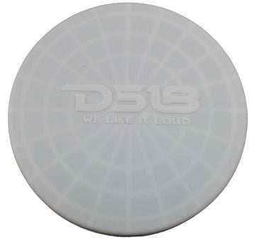 "Pair of White DS18 HYDRO 10"" Silastic Silicone Marine Speaker Covers CS-10/WH"