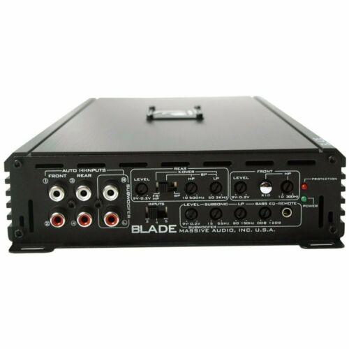 V2 Model Massive Audio Amplifier Blade Full Range 5 Channel Amp 1500W