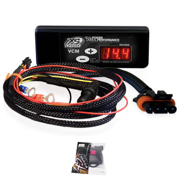 XS Power VCM Dash Mounted Digital Voltage Control Module and Harness XSP310-313
