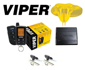 Viper 2-Way Security and Remote Start + DB3 Override Module + 2 DoorLocks 5305V