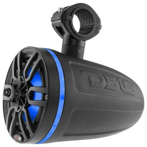 2X Ds18 Hydro Nxl8Tpbk 8 Wakeboard Pod Tower Speaker 375W Rgb Led Lights Consumer Electronics >