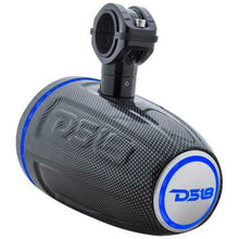 "Load image into Gallery viewer, 2x DS18 HYDRO CF6TPB 6.5"" Wakeboard Pod Tower Speaker 350W RGB LED Light"