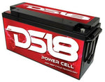 DS18 PC180 Dry Deep Cycle Car Audio Battery 5000W 1260-1498A Power Cell