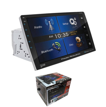 "Power Acoustik 10.6"" 2 DIN Touch Screen DVD, CD/MP3 Car Stereo w/ Phone Link"