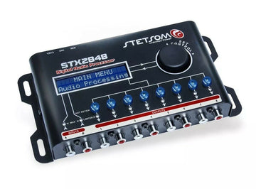 Stetsom 8 Channel Digital Audio Processor With 15 Band Equalizer STX2848