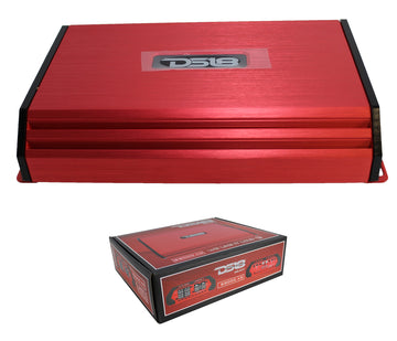 3000 Watt 4 Channel Red DS18 Full Range Class D Amplifier Pro Car Audio S3000.4D