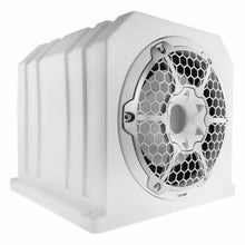 "Load image into Gallery viewer, DS18 NXL10SUBLD 10"" WHITE SUB WOOFER BOX MARINE + WATERPROOF 1200W MONO AMP"