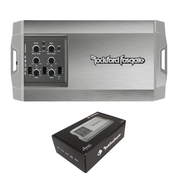 Rockford Fosgate 400 Watt 4 Ohm 4-Channel Marine Powersports Amplifier Tm400X4Ad Consumer