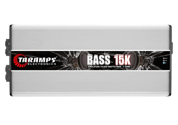 Open Box - Taramp's BASS15K 15,000W Class D 1 Channel Amplifier Car Audio