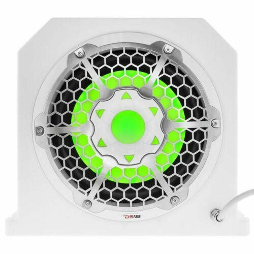 Ds18 Nxl10Subld 10 White Sub Woofer Box Marine + Waterproof 1200W Mono Amp Consumer Electronics >