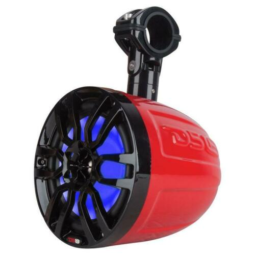 2X Ds18 Hydro Nxl-6Utvr 6 Slim Wakeboard Pod Tower Speaker 300W Rgb Led Light Consumer Electronics >