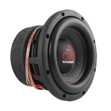 "Massive Audio HIPPO84V2 8"" 1000 Watt Dual 4 Ohm Voice Coil Competition Subwoofer"