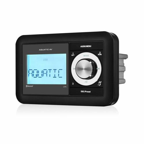 CP6 Waterproof Radio Marine Stereo AM/FM iPod MP3 Aux Audio Compact + USB