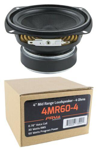 "PRV Audio 4MR60-4 4"" 60 Watt 4 Ohm Mid Range Loudspeaker"