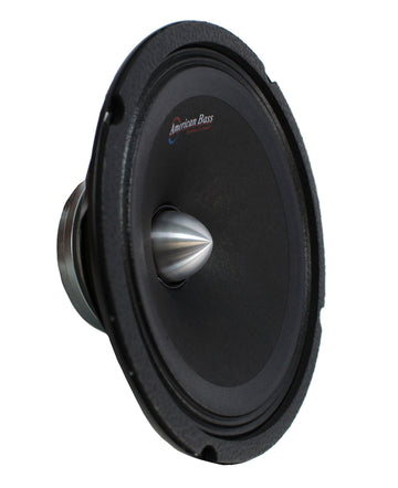"8"" Midrange Neodymium Speaker 400W 2"" VC 4 Ohm Pro Car Audio American Bass NEO8"
